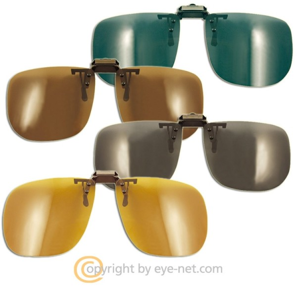 Sonnenbrillenvorhänger, Clip On, Aufsatz, Vorhänger
