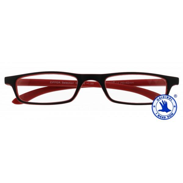 Zipper Selection (schwarz-rot)