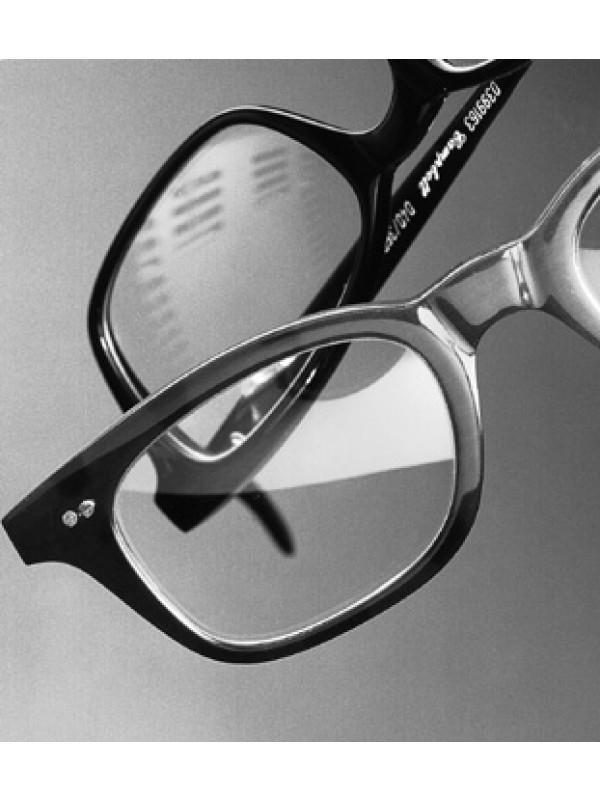 1 Paar Kunststoffgläser incl. Einarbeitung in Vollrandbrille