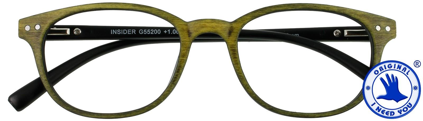 Insider (grün) - Holzdesign