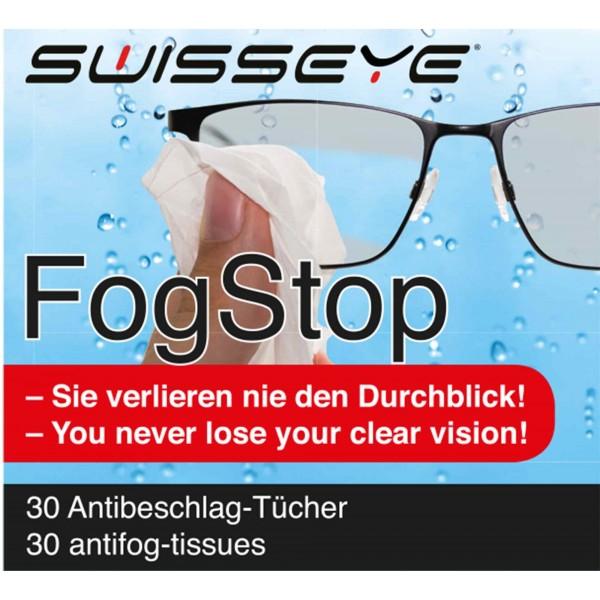 Antibeschlag und Reinigungstuch gegen beschlagene Brillen