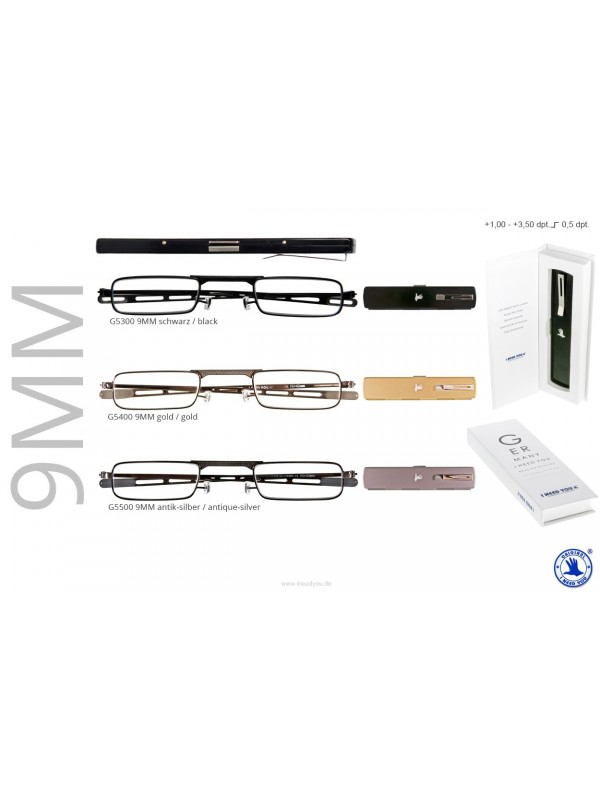 9MM Reisebrille